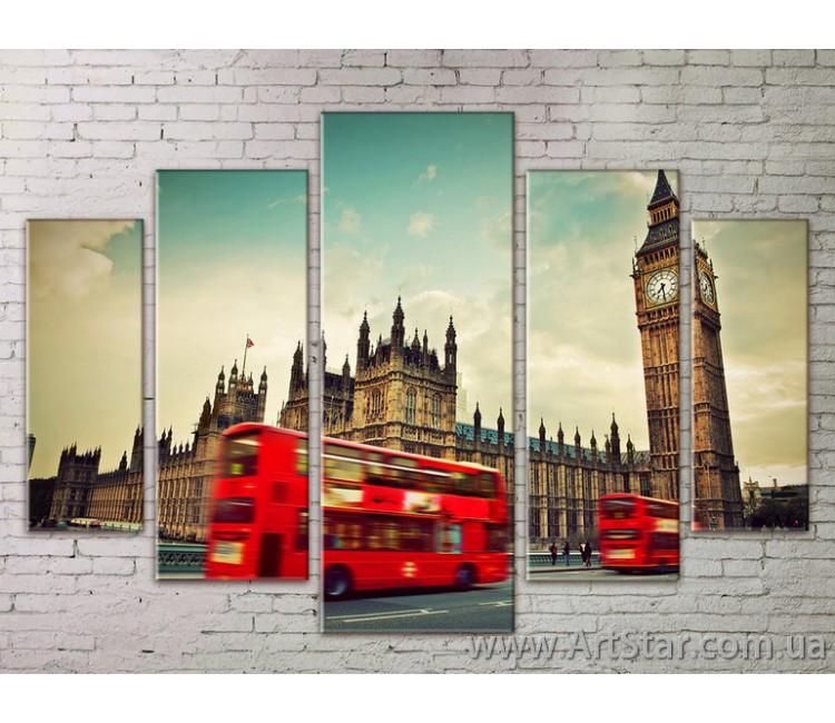 Картина Модульная Город, Art. STRM778093