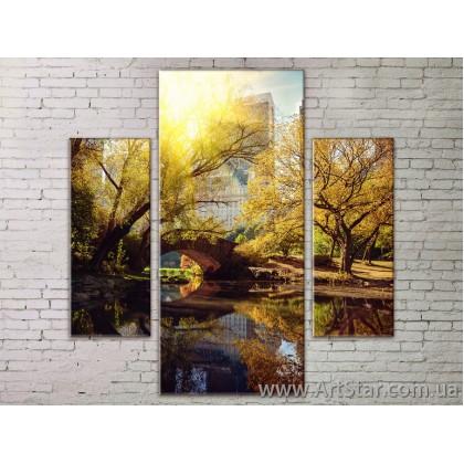 Модульные Картины Города, Art. STRM778095