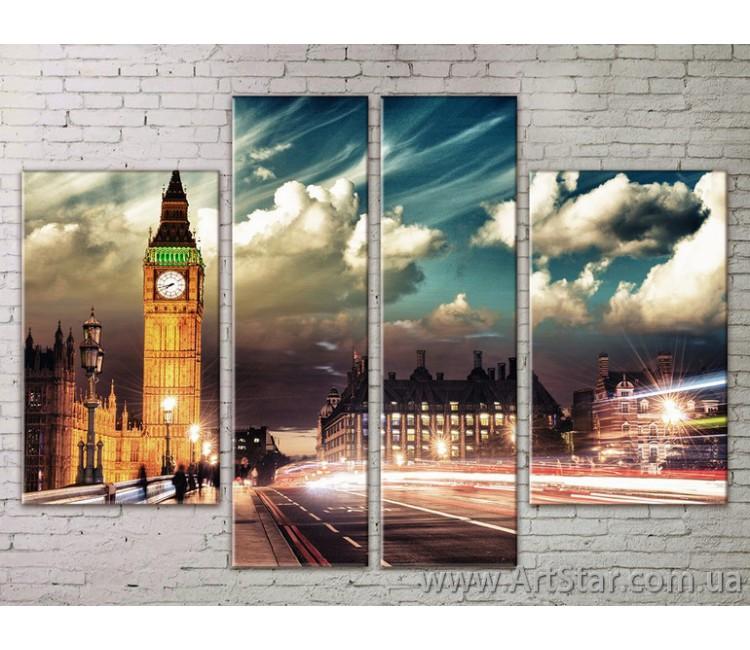 Картина Модульная Город, Art. STRM778111