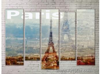 Картина Модульная Город, Art. STRM778149