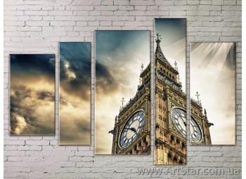 Картина Модульная Город, Art. STRM778183