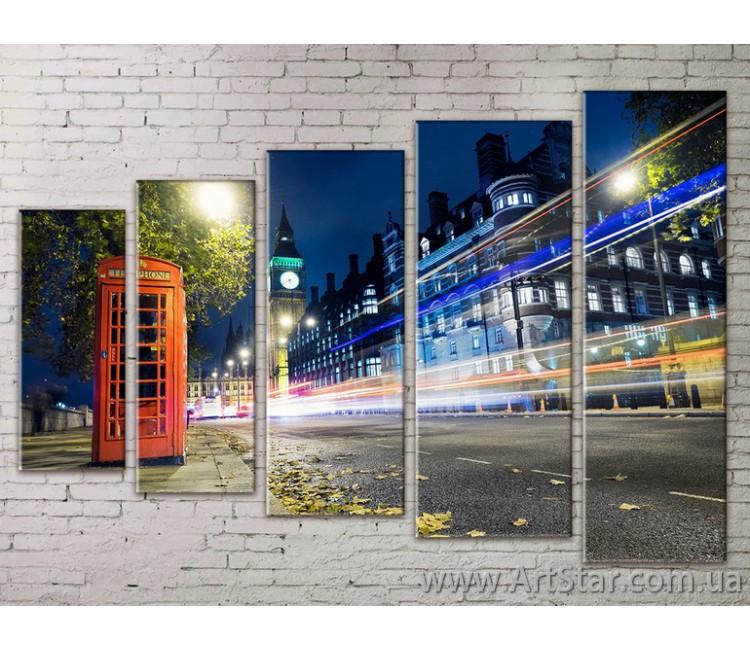 Картина Модульная Город, Art. STRM778199