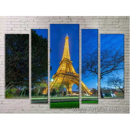 Картина Модульная Город, Art. STRM778203