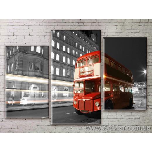 Модульные Картины Города, Art. STRM778230