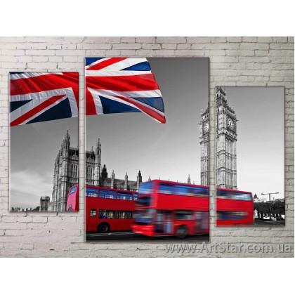 Модульные Картины Города, Art. STRM778232
