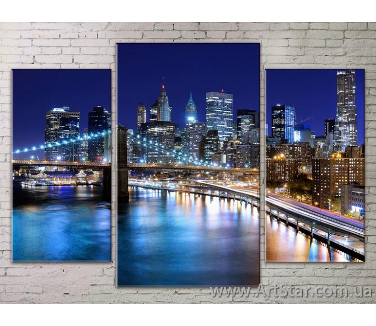 Модульные Картины Города, Art. STRM778234