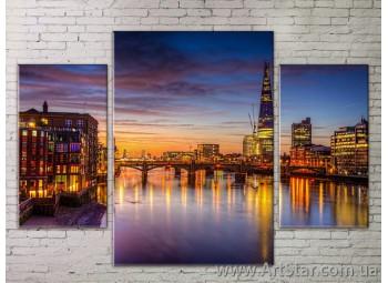 Модульные Картины Города, Art. STRM778242
