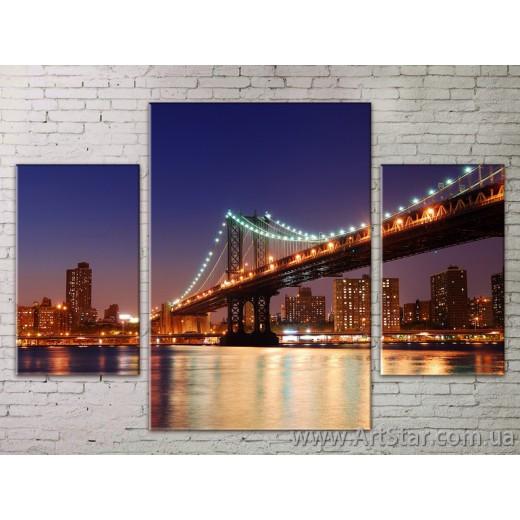 Модульные Картины Города, Art. STRM778244