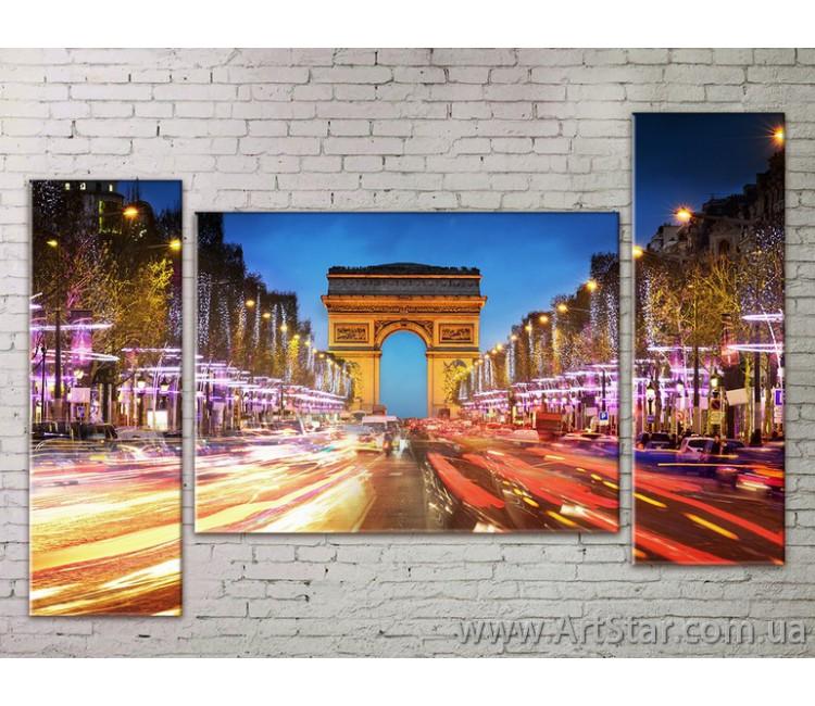 Модульные Картины Города, Art. STRM778246