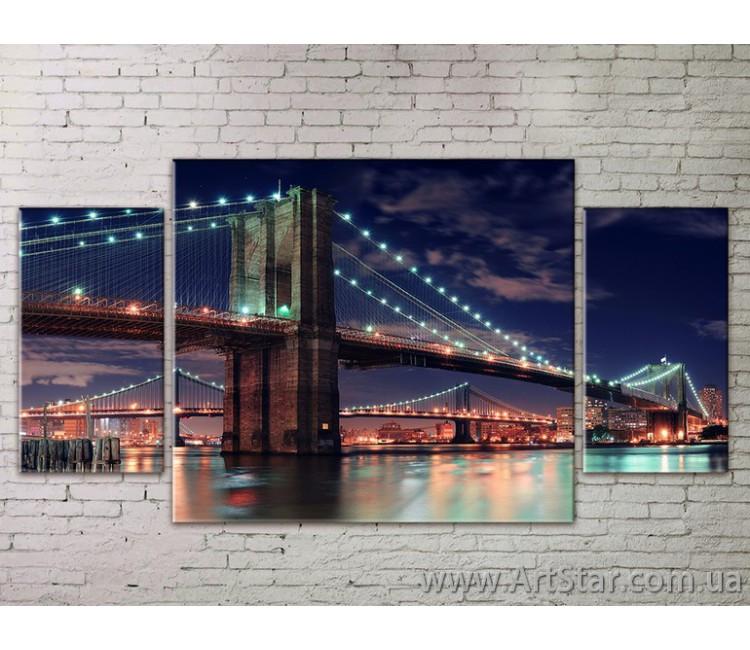 Модульные Картины Города, Art. STRM778248