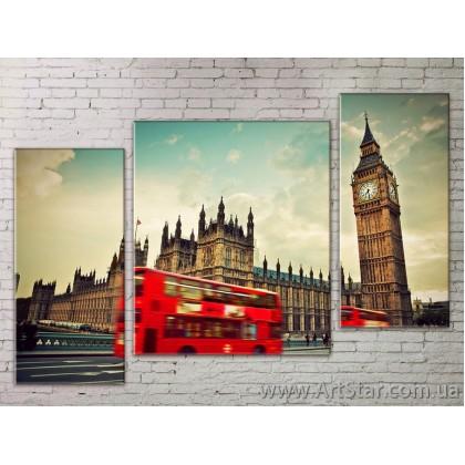 Модульные Картины Города, Art. STRM778254