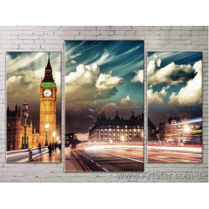 Модульные Картины Города, Art. STRM778258