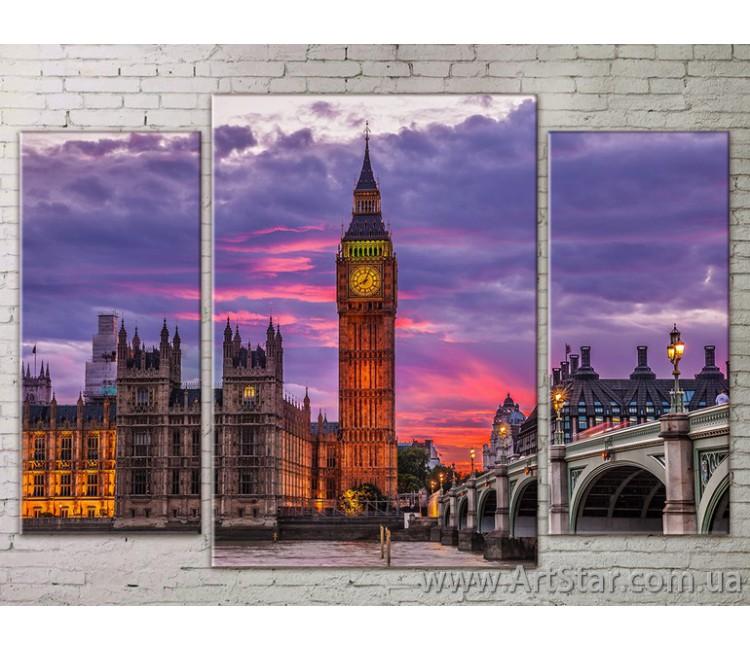 Модульные Картины Города, Art. STRM778262
