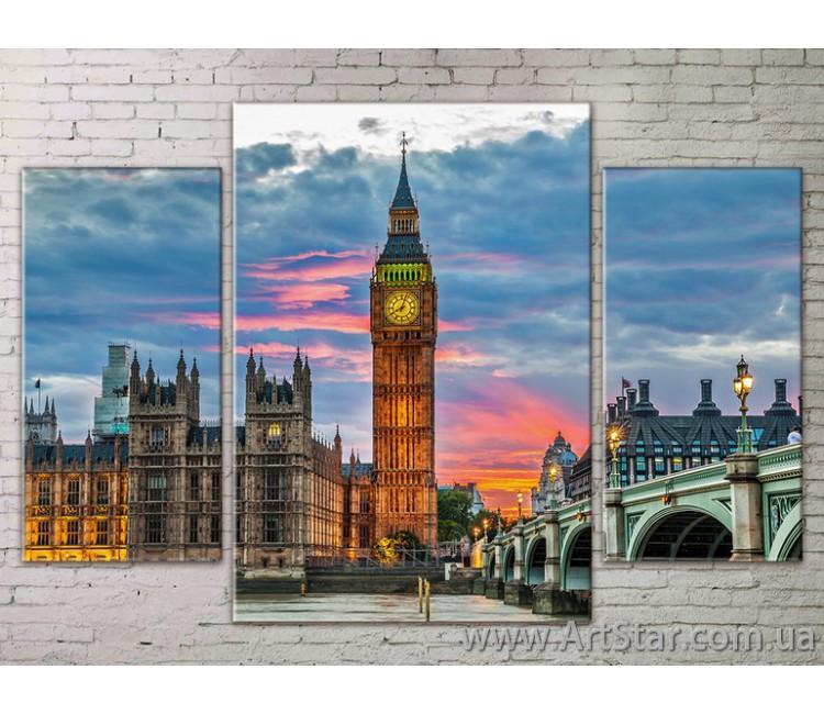 Модульные Картины Города, Art. STRM778264