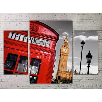 Модульные Картины Города, Art. STRM778266