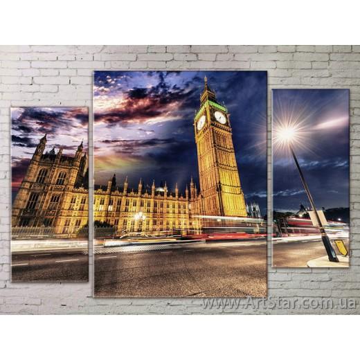 Модульные Картины Города, Art. STRM778272