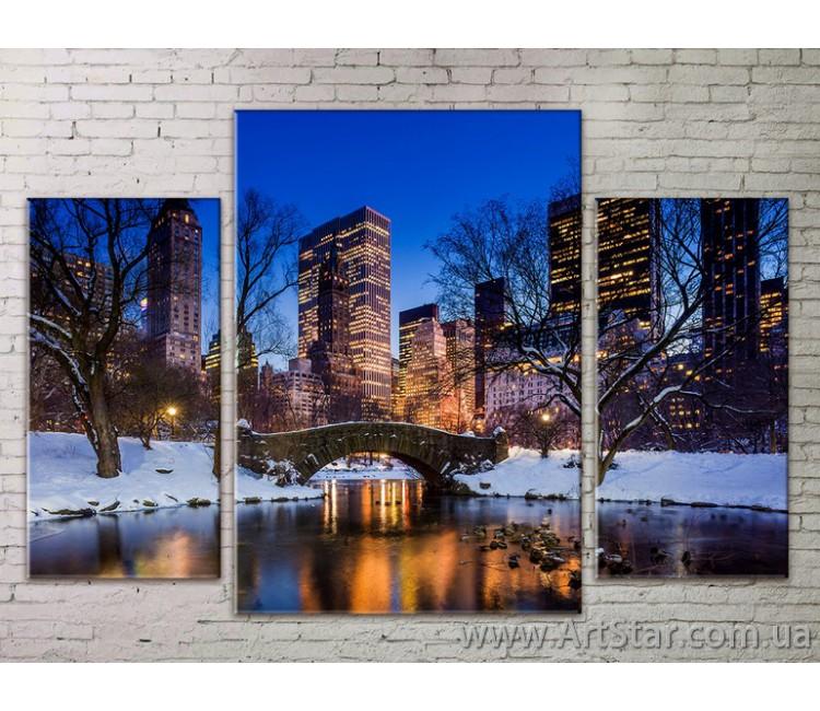 Модульные Картины Города, Art. STRM778274