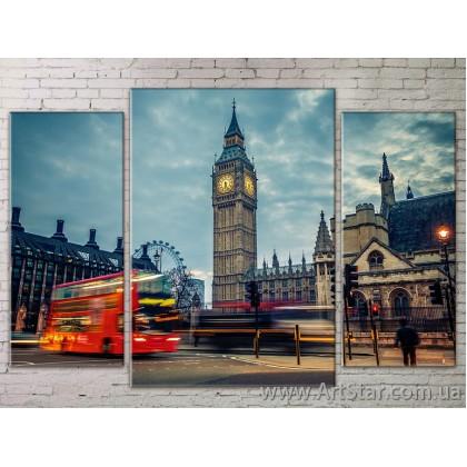 Модульные Картины Города, Art. STRM778280