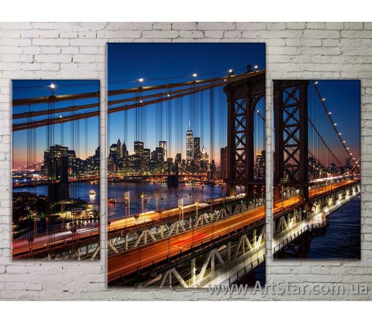 Модульные Картины Города, Art. STRM778286