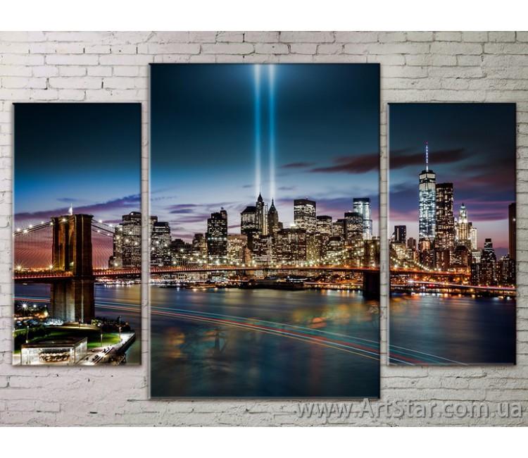 Модульные Картины Города, Art. STRM778288