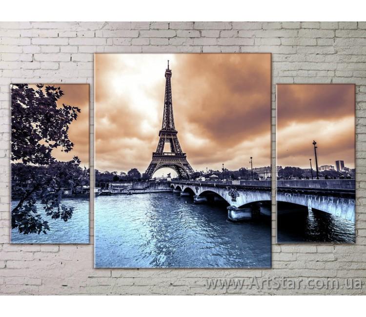 Модульные Картины Города, Art. STRM778290