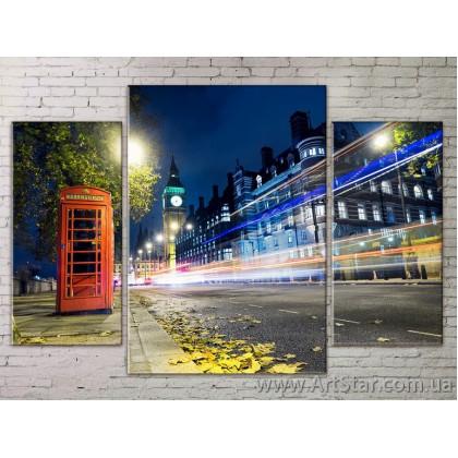 Модульные Картины Города, Art. STRM778292