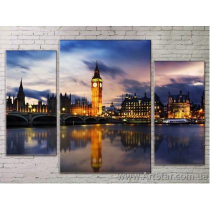 Модульные Картины Города, Art. STRM778300