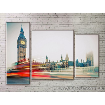 Модульные Картины Города, Art. STRM778302