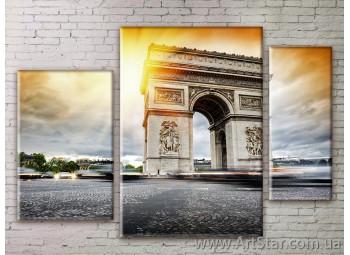 Модульные Картины Города, Art. STRM778306