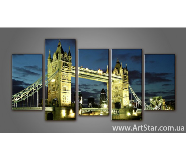 Модульная картина Панорама Лондона (5) 5