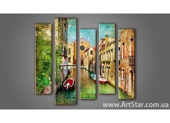 Модульная картина Венеция (5) 2