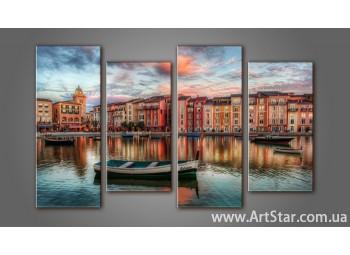 Модульная картина Венеция (4) 3