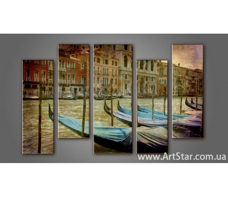 Модульная картина Венеция (5) 4