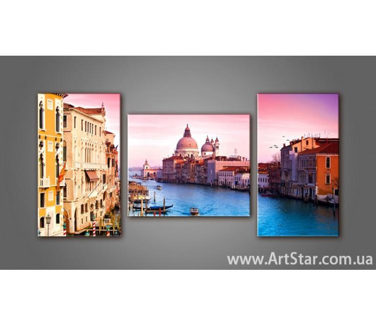 Модульная картина Венеция 4
