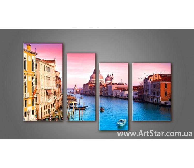 Модульная картина Венеция (4) 5