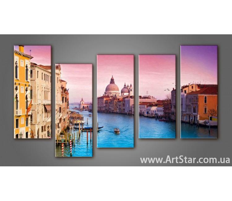 Модульная картина Венеция (5) 5
