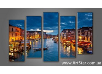 Модульная картина Венеция (5) 6