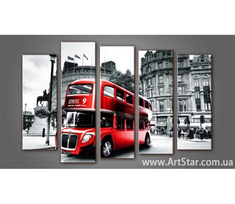 Модульная картина Панорама Лондона (5) 7