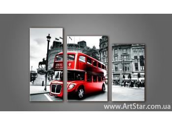 Модульная картина Лондон 3