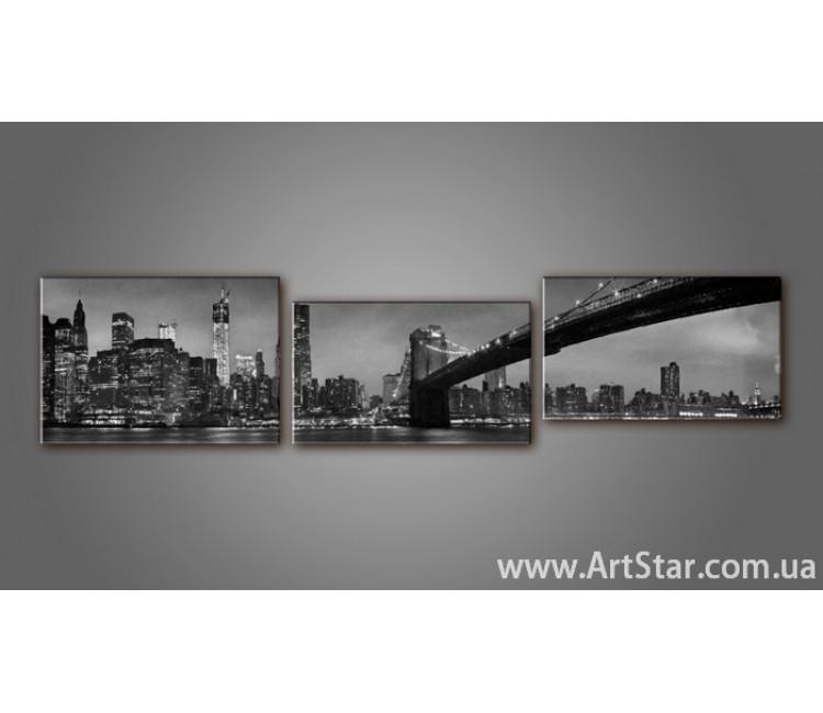 Модульная картина Бруклинский мост 6