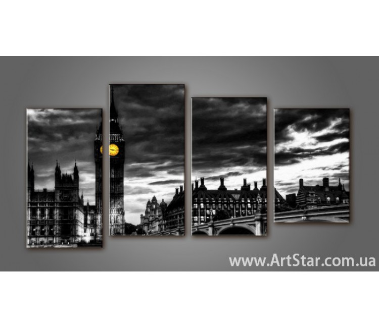 Модульная картина Панорама Лондона (4) 6