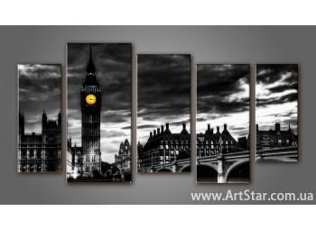 Модульная картина Панорама Лондона (5) 8