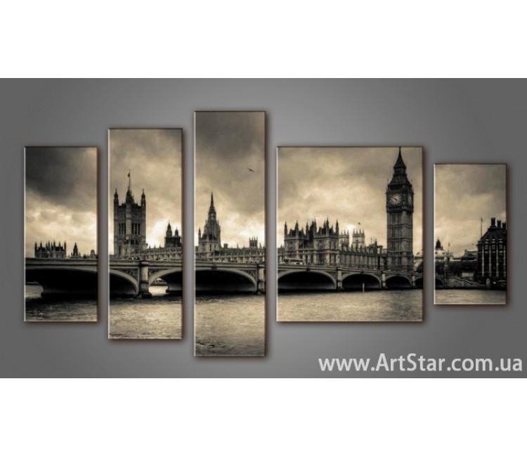Модульная картина Панорама Лондона (5) 11