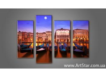 Модульная картина Венеция (4) 8