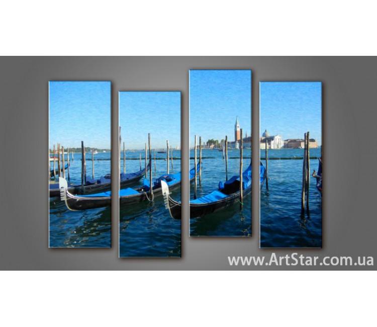 Модульная картина Венеция (4) 9