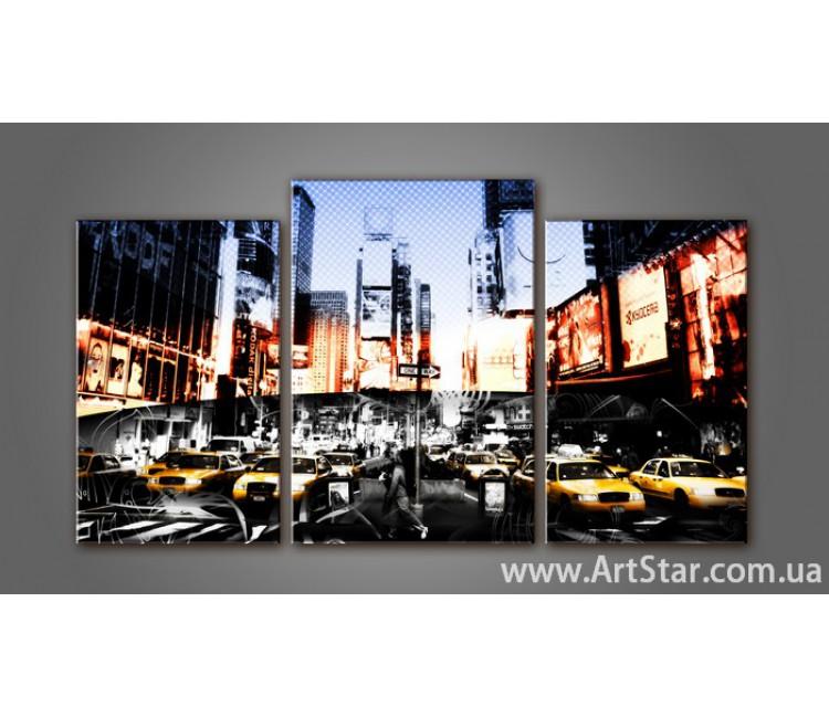 Модульная картина New York 4