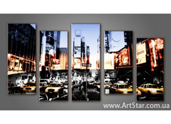 Модульная картина New York (5) 4
