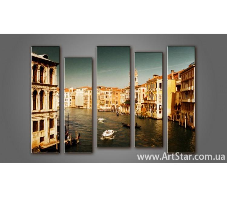 Модульная картина Венеция (5) 10