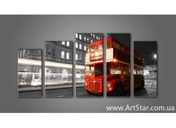 Модульная картина Панорама Лондона (5) 16