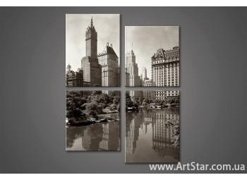 Модульная картина New York (4) 2